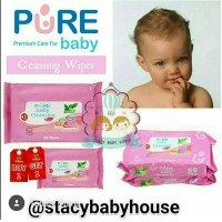Pure baby Cleansing Wipes Tea Olive Buy1get1