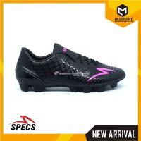 Sepatu Bola Specs Accelerator Exocet FG Black 100762 Original