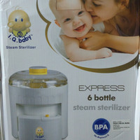 steam sterilizer 6 bottle