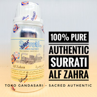 Bibit Parfum Minyak Wangi SEGEL 100ml SURRATI Alf Zahra Seribu Bunga