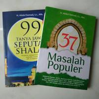 Buku 37 MASALAH POPULER & 99 TANYA JAWAB SEPUTAR SHALAT