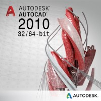 Autocad 2010 For Windows x32 & x64-bit