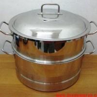 Oxone Brazier Steamer 34cm - Pengukus Makanan - Stainless