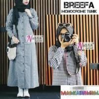 Baju Atasan / Blouse Muslim Wanita  Breefa Monocrome Limited