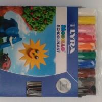 Mainan lilin bisa dibentuk dalam berbagai warna / Modello schoolplast