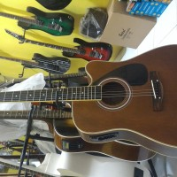 gitar cort akustik elektrik string new