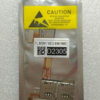 Flexibel | Konektor Dual  Sim Card plus slot micro SD Sony M2 D2305