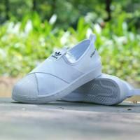 Sepatu Adidas Slip On Super Star Size 36-40 For Woman