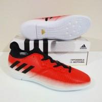 MURAH BERKUALITAS Sepatu Futsal Adidas Messi II Techfit IC (Red White)