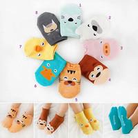 Kaos Kaki Anak Bayi 3D Karakter Animal Baby Socks Cute Import