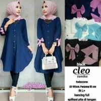 Promo Atasan Blouse Tunik Wanita Baju Muslim Blus Muslim Cleo Tunika