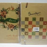 Notebook A5 SP0801 - Sweetheart