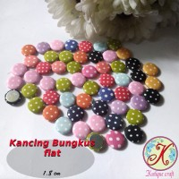 Kancing Bungkus Flat 1,8cm Mix per pack