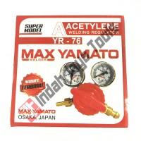 Regulator Las Acetylene Yamato / Tabung Las Asetilin