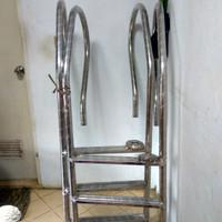 Tangga Kolam Renang Lokal SUS 304 / Pool Ladder