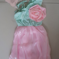 SALE DRESS ANAK MB BALON FLOWER