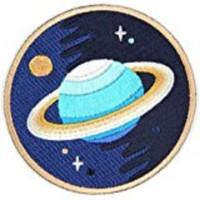 Iron Patch Planet Ukuran L: 6cm T: 6cm
