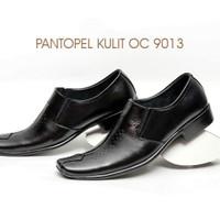 LV 9013 sepatu pantopel kulit, sepatu kerja, luis visto, sepatu pormal
