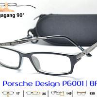 Frame Kacamata Pria Vintage Minus Porsche Design 6001 H Antiradiasi