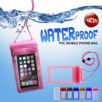 Sarung Pouch Bag HP Handphone Smartphone Waterproof Anti Air Bagus
