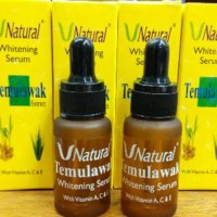 Best Item! Serum Temulawak V Natural Whitening Original ber-BPOM