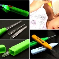 Promo! Pembersih Telinga Newest Flashlight Earpick