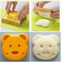 Terlaris Bear Sandwich Mold bread mold sandwich maker !