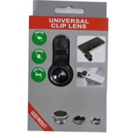 Hot Sale! Universal Clip Lens 3 in 1 (Macro, Wide, Fish Eye) Murah!