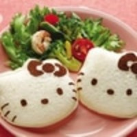 Best Seller! KITTY Sandwich Mold bread mold sandwich maker ! Murah!