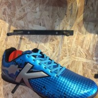 Sepatu futsal kelme original Star Evo Sky Blue black new 2017