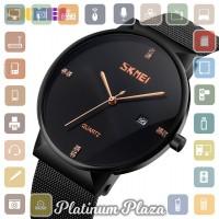 SKMEI Jam Tangan Analog Pria Stainless Steel - 9164 - Black`DJSJC8-