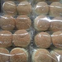 Roti Burger Wijen isi 2 pcs