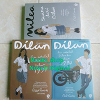 Novel Pidi Baiq (Dilan 1, Dilan 2 dan Milea) ORIGINAL