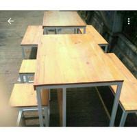 Meja cafe restoran rumah makan warung kantor workstation table kerja
