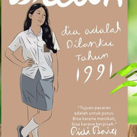 Novel DILAN 1991 ORIGINAL