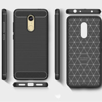 CASE SILIKON CARBON XIAOMI REDMI 5 plus SOFTCASE CASING