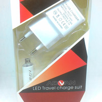 Travel charger chasan advan universal 2,1 amphere