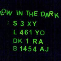 Cutting Sticker / Stiker Angka / Abjad Fosfor / Glow in the dark
