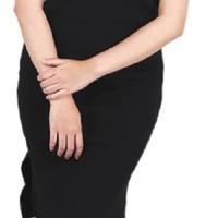 Catenzo Knit Casual Wanita Hitam Berkualitas -  Catenzo ZM 094