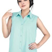 Catenzo Atasan Casual Wanita Toska Asli Bandung - Catenzo MT 054