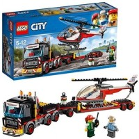 LEGO City-60183 Heavy Cargo Transport Set Truck Trailer Helicopter Toy
