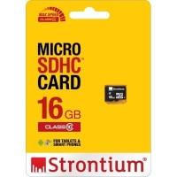 Basic Strontium 16GB MicroSD Card - SR16GTFC10R