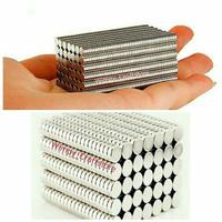 Mini magnet Neodymium 3mm magnet super kuat bahan craft magnet kulkas