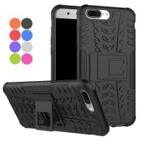 Case OnePlus 5 Rugged Dual Armor Stand Hard+Soft Cover One Plus
