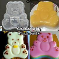 Cetakan Puding Panda Jumbo/Cetakan Jelly Art/Cetakan Puding Beruang