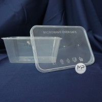 Thinwall / Food Container Makanan / Kotak Makan 1000ml - 25pcs