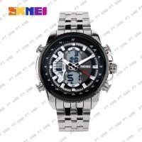 Jam Tangan Pria DIgital Analog SKMEI 0993 Black Water Resistant 30M