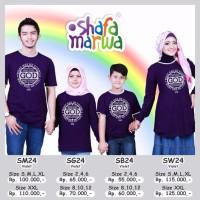 Sarimbit Keluarga Shafa Marwa 24 - Cotton Combed - Jual Baju Keluarga