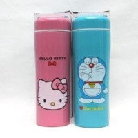 Botol Termos Karakter Hello Kitty Doraemon - Thermos Minum Tumblr