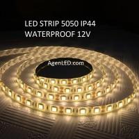 Lampu LED Strip 5050 IP44 12v OUTDOOR Ledstrip ip 44 Warm White 12 v